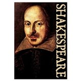 Shakespeare Wrapped Canvas Art