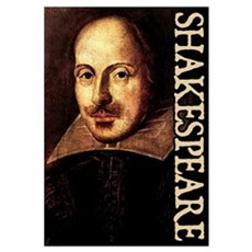 Shakespeare Portrait Canvas Art