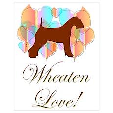 Wheaten Love! Poster