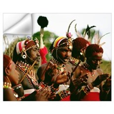 SAMBURU DANCERS Wall Decal