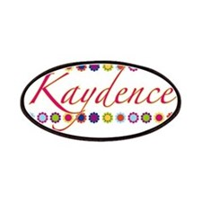 Kaydence with Flowers Patches