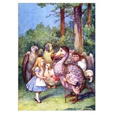 ALICE & THE DODO BIRD Poster