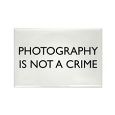 Photographer Rectangle Magnet