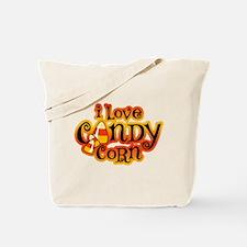 I Love Candy Corn Tote Bag