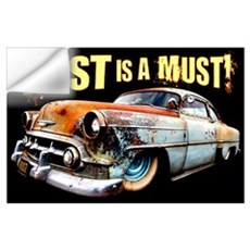 Rust is a Must! Wall Decal