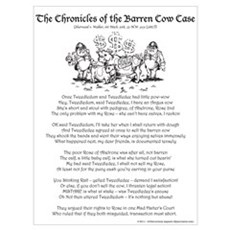 Barren Cow Case Crhonicles Poster