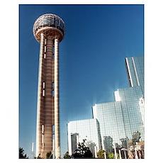 16x20 - Dallas Reunion Tower & Hotel Poster