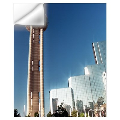 16x20 - Dallas Reunion Tower & Hotel Wall Decal