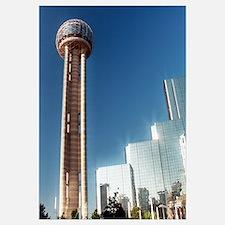 16x20 - Dallas Reunion Tower & Hotel
