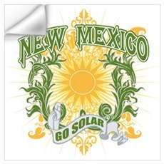 Go Solar New Mexico Wall Decal