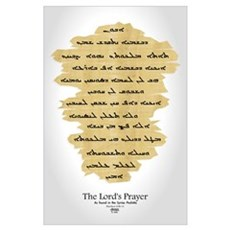 Syriac Lord's Prayer Poster