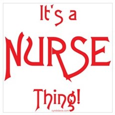 It's a Nurse Thing! Canvas Art