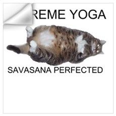 Extreme Yoga Wall Decal