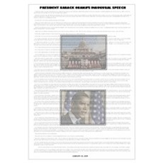 Inaugural Speech Framed Print