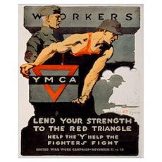 """Lend Your Strength"" Sm. Poster"