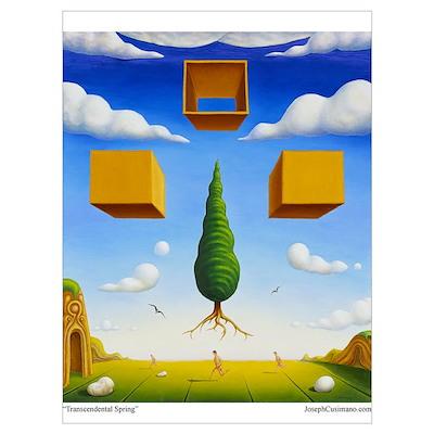 Framed Mini Art : Transcendental Spring Poster