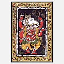 Ganesha Patachitra Style Print