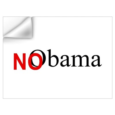 No Obama Wall Decal