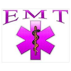 EMT(pink) Poster