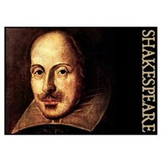 Shakespeare Portrait Poster