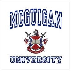 MCGUIGAN University Poster