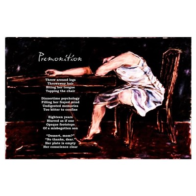 """Premonition"" Poetic Print Poster"