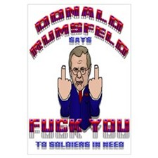"""Rumsfeld's Soldier Message"""