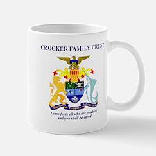 crockerfamilycrest Mugs