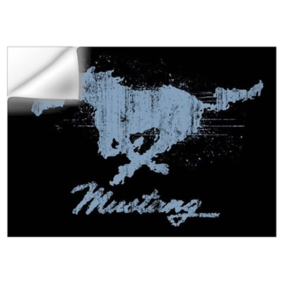 Mustang - Grunge Wall Decal