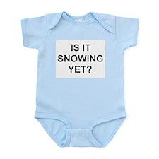 Cute Snowboarder Infant Bodysuit