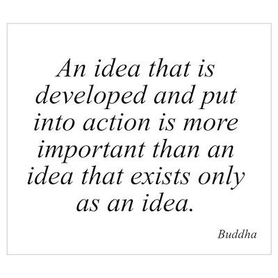 Buddha quote 6 Poster