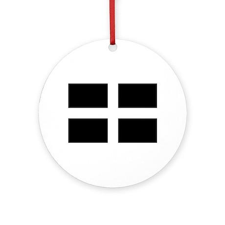 Kernow Ornament (Round)