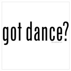 got dance? by DanceShirts.com Framed Print
