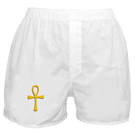 Golden Ankh Boxer Shorts