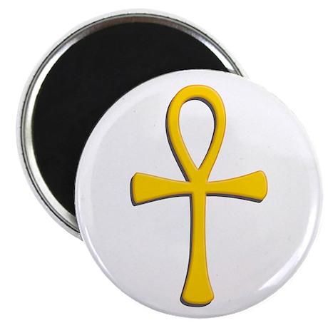 Golden Ankh Magnet
