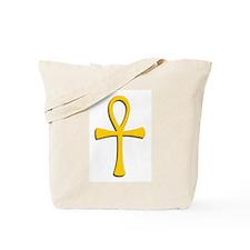 Golden Ankh Tote Bag