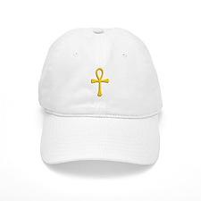 Golden Ankh Baseball Cap