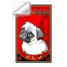 Obey the Pug Dog! 1 Wall Decal