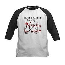 Math Teacher Ninja Tee