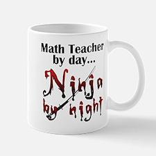 Math Teacher Ninja Mug