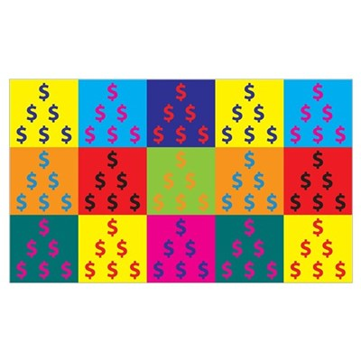 Accounting Pop Art Poster