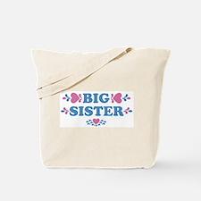 Big Sister Hearts Tote Bag
