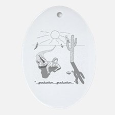 Survival: Graduation Ornament (Oval)