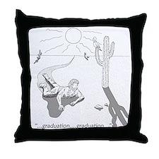 Survival: Graduation Throw Pillow