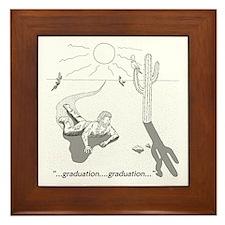Survival: Graduation Framed Tile