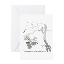 Survival: Graduation Greeting Card