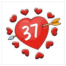 37th Valentine Poster