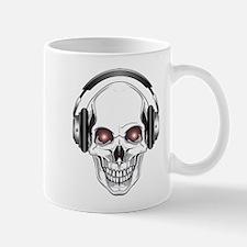 Red Eye DJ Skull Mug