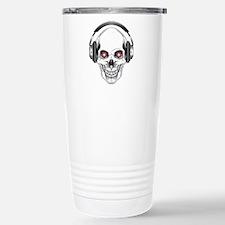 Red Eye DJ Skull Travel Mug