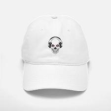 Red Eye DJ Skull Baseball Baseball Cap